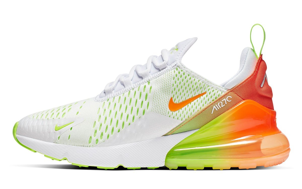 buy online 6f520 12e7b Nike to Release Two-Pack of Gradient-Heeled Air Max 270s ...