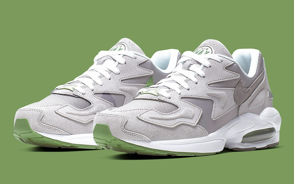 Available Now // The Air Max2 Light Copies the Iconic Chlorophyll Colors