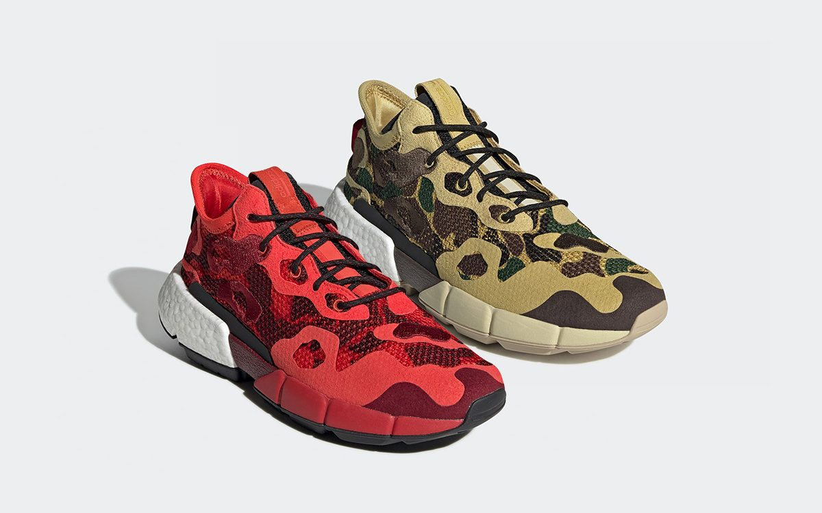 Available Now // The adidas POD s3.2 Set to Debut in Two Camo-Covered Colorways