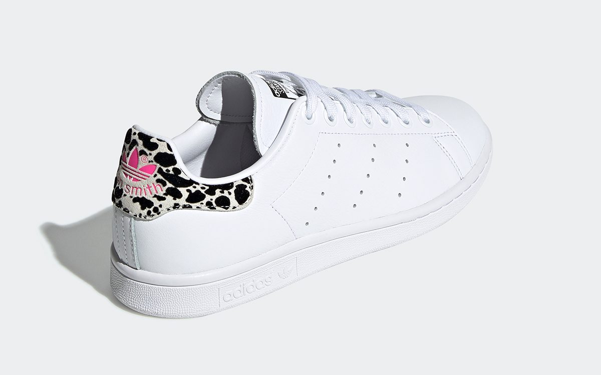These Animal Print Stans Smiths are Available Now!