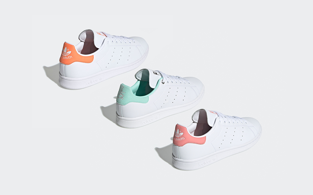 The Iconic adidas Stan Smith Surfaces in Three Pastel ...