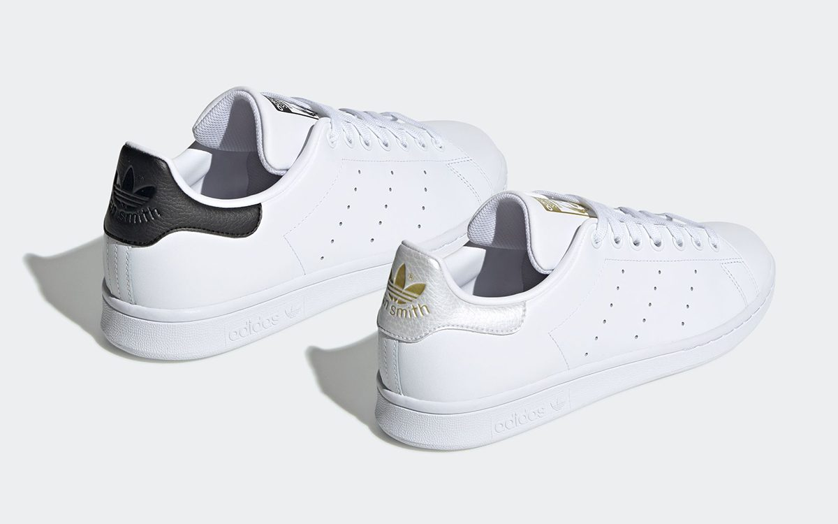 adidas Add Luxurious Tumbled Leather Heel Caps to the Stan Smith for Summer