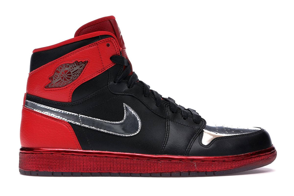 A Black, Red and Metallic Silver Air Jordan 1 to Release in