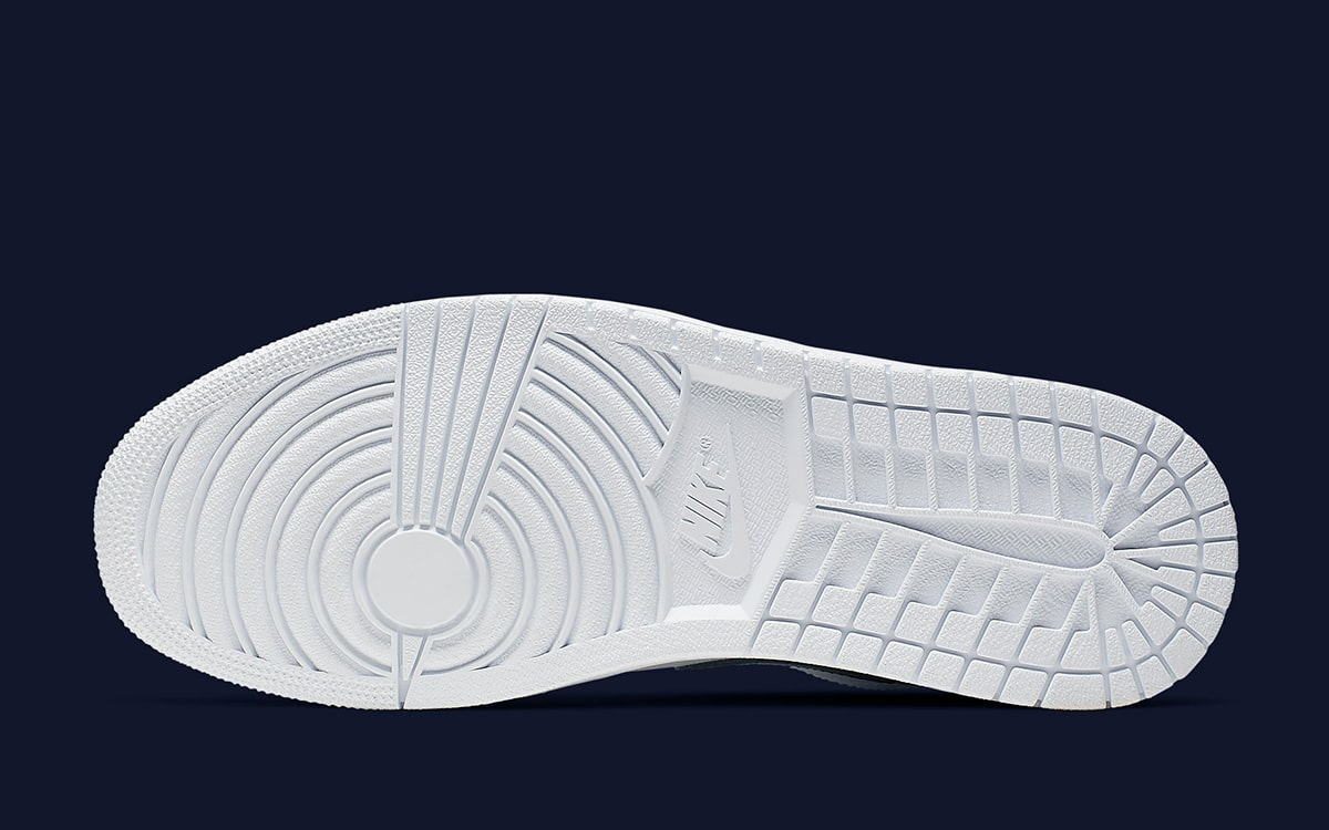 Navy Swooshes Are Next Up For The Air Jordan 1 Low House Of Heat