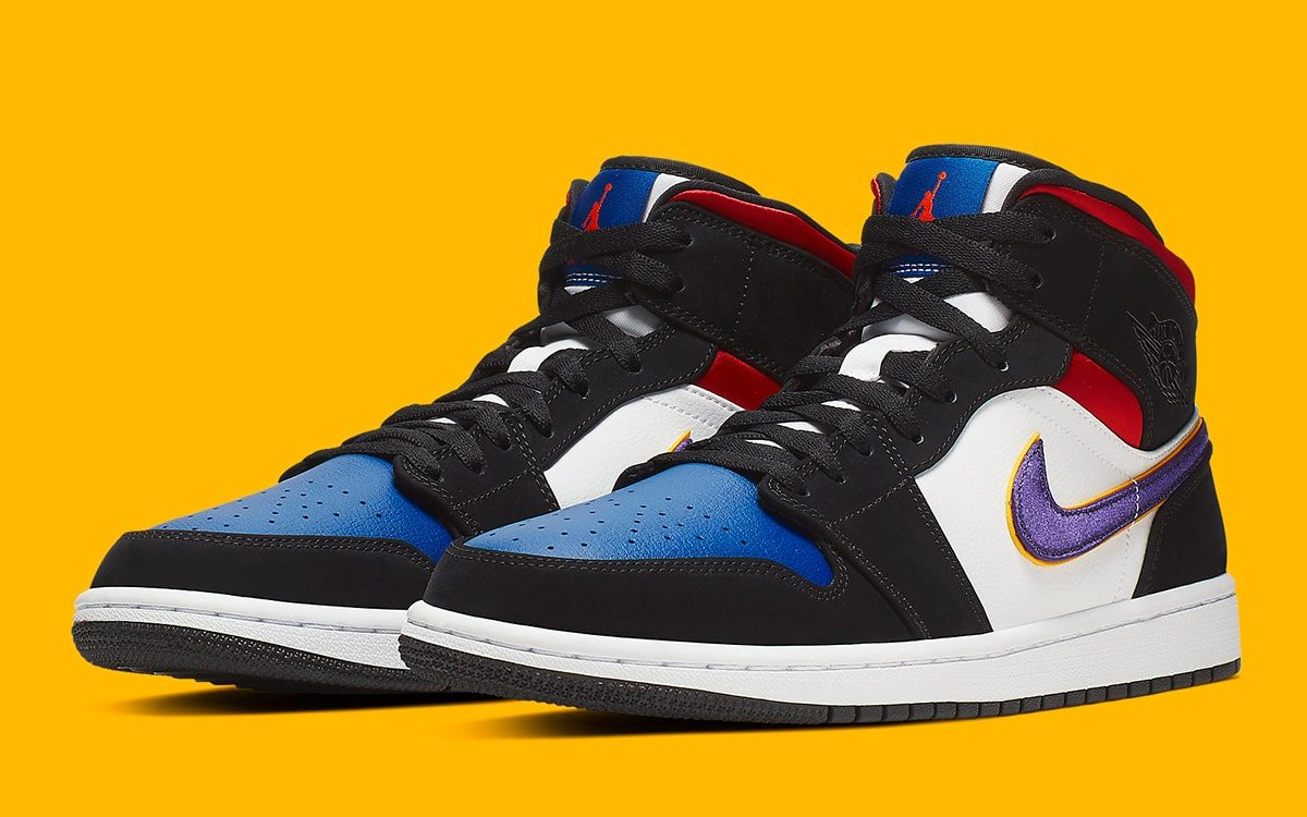 Available Now // This Air Jordan 1 Rocks the Colors of the Teams that MJ Beat to Win His First Championship