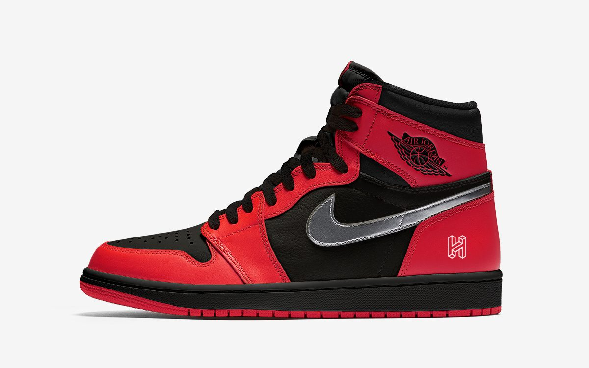 A Black, Red and Metallic Silver Air Jordan 1 to Release in 2020