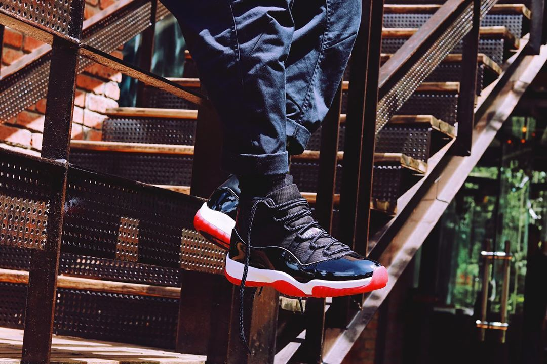 Where To Buy The Bred Air Jordan 11 House Of Heat Sneaker