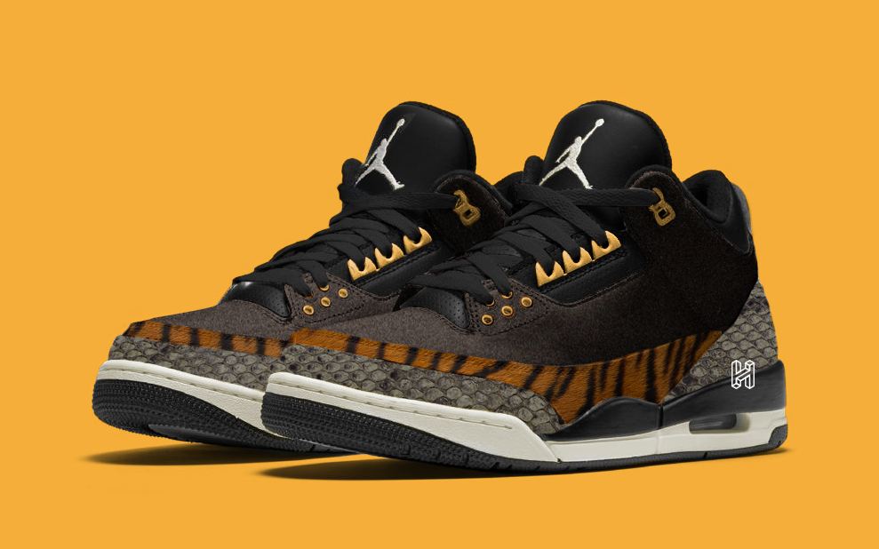 "There's a Two-Piece ""Animal Pack"" of Air Jordan 3s Arriving this Autumn"