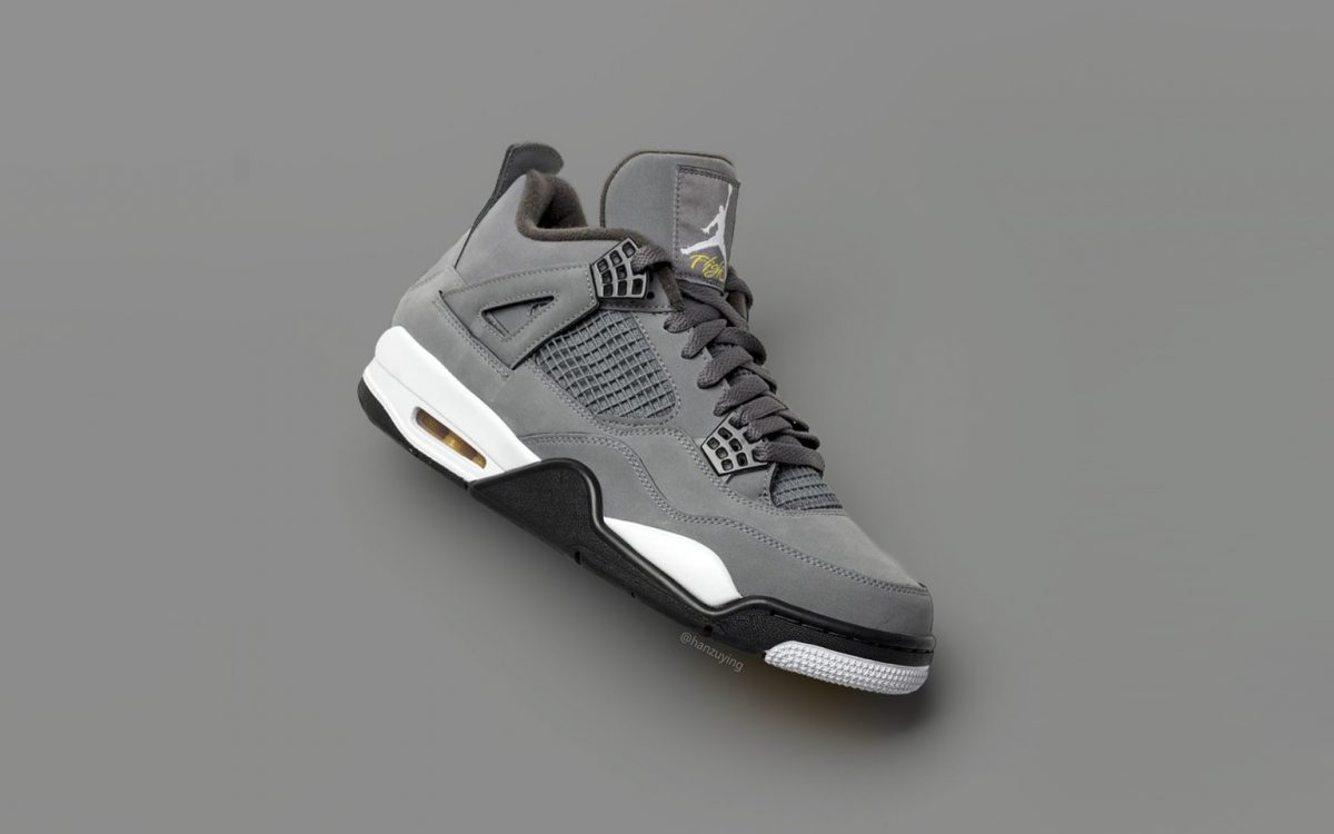 "huge selection of 9b35a 2c7c5 First Looks at the 2019 Air Jordan 4 ""Cool Grey"" Retro"
