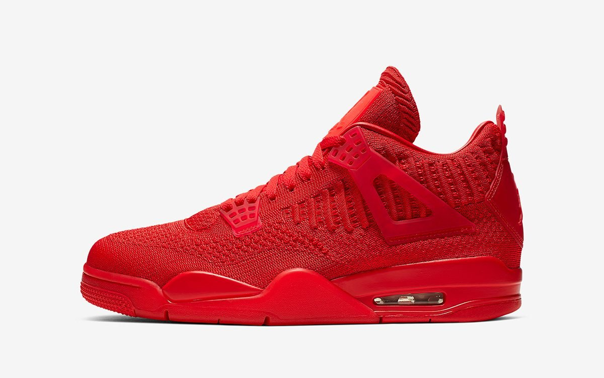 Official Looks at the Flyknit Air Jordan 4s