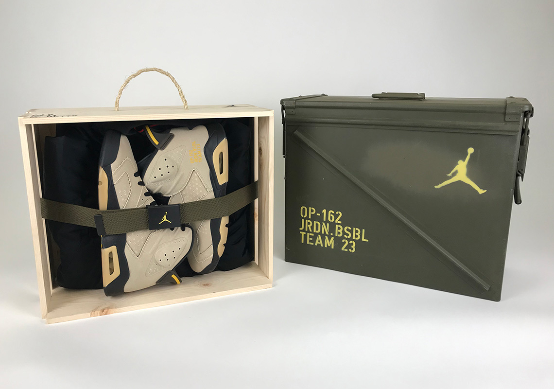 Detailed Looks at Jordan Brand's MLB Athletes Military-Themed Air Jordan 6 PE Packs