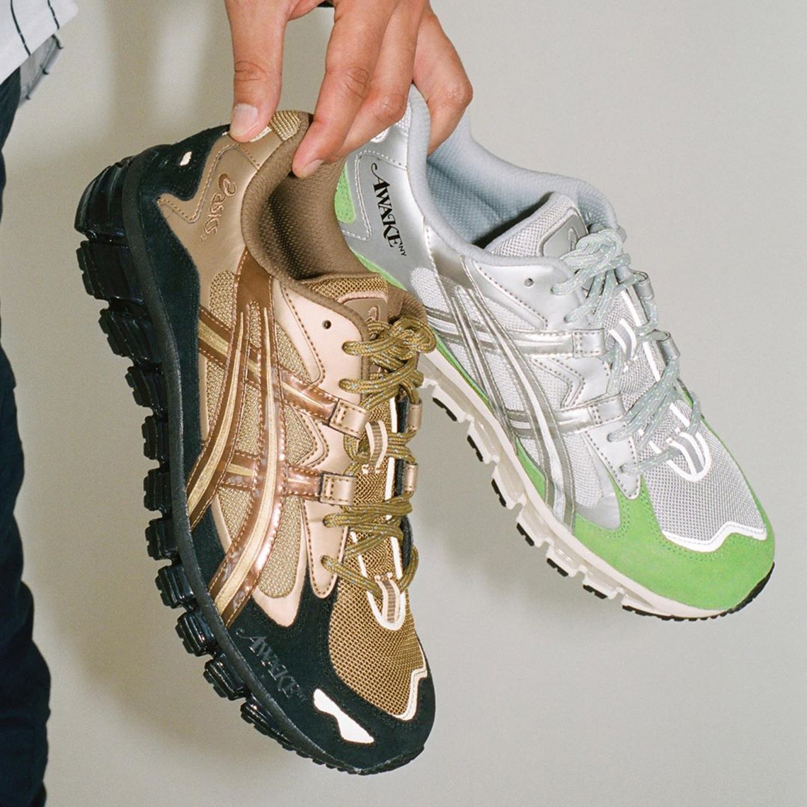 Awake NY Reveal Two Metallic ASICS GEL-Kayano 5 360 Collabs