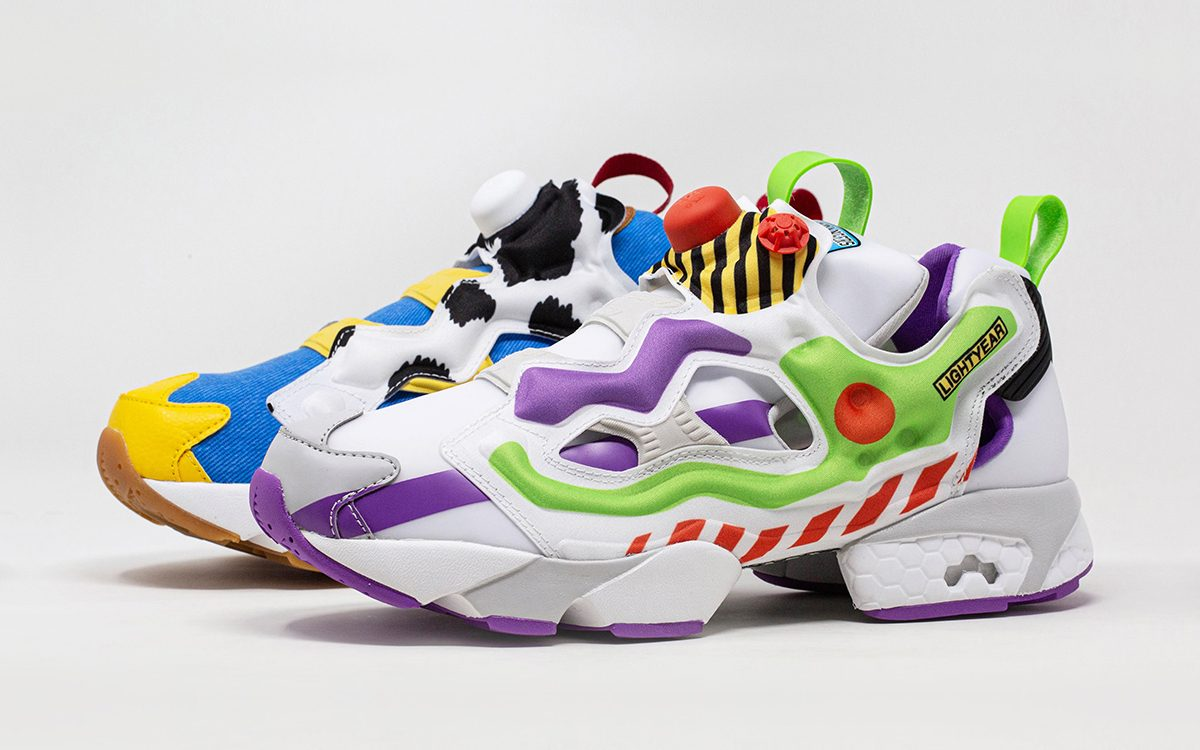 "BAIT Buddy-Up with Reebok for a ""Toy Story"" Instapump Fury Pack"