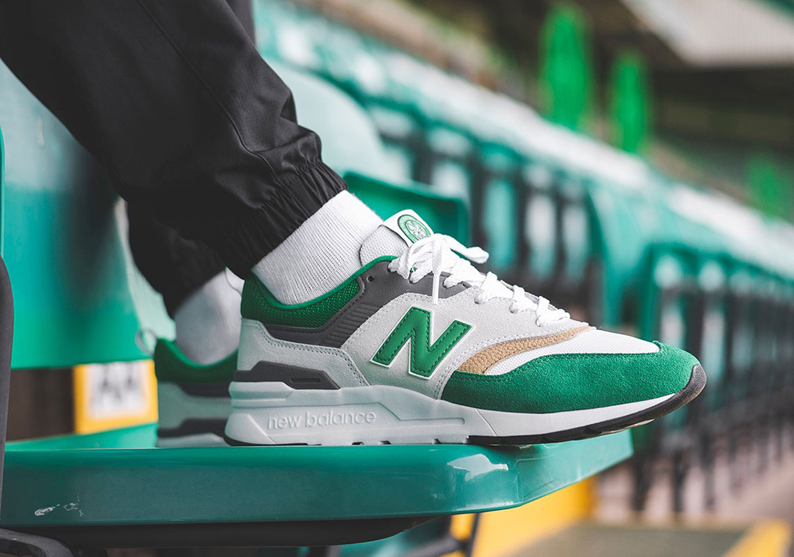 "Celtic Celebrates Historic ""Treble Treble"" With Special-Edition New Balance 997H"