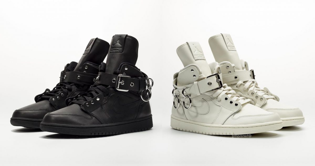 Detailed Looks at the COMME des Garcons x Air Jordan 1