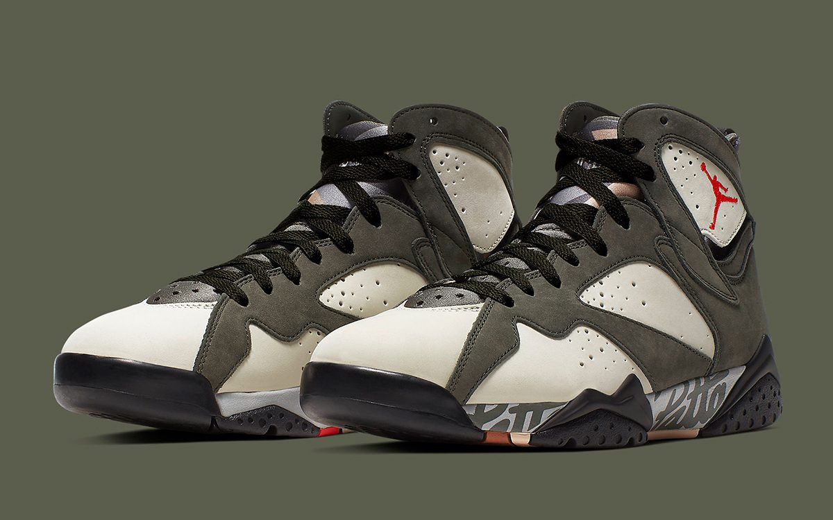 It Looks Like the Ultra-Rare Alternate Patta x Air Jordan 7 Will Release This Friday