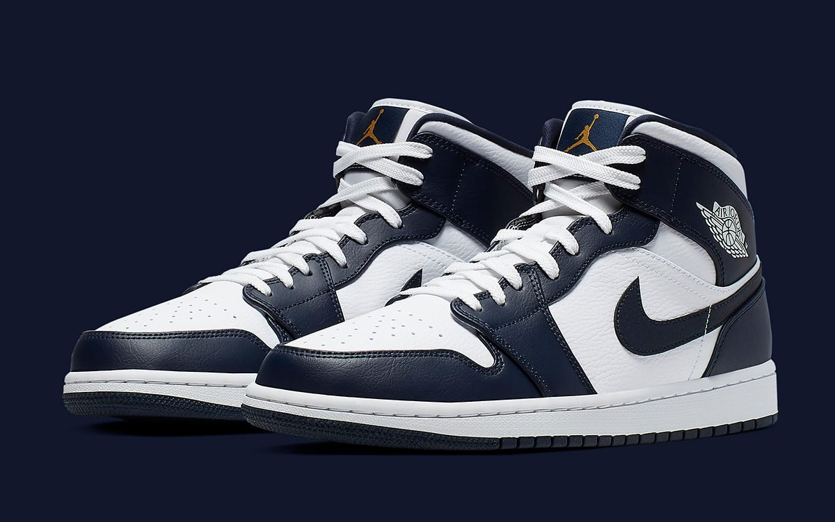 Available Now // The Air Jordan 1 Mid Looks Awesome in Obsidian