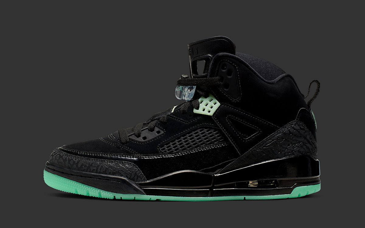 Available Now // The Jordan Spizike Surfaces with Glow-in-the-Dark Soles