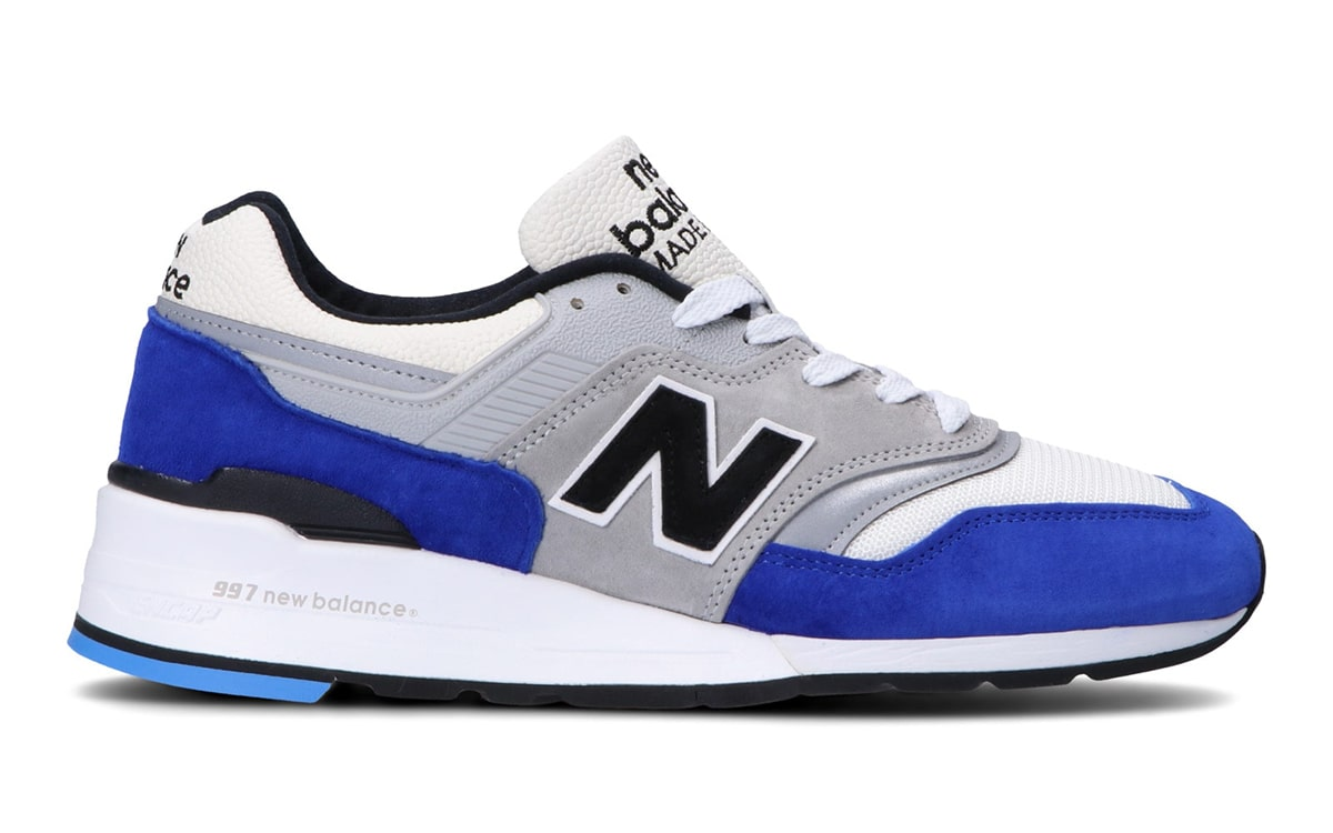 on sale 360e9 0bac5 Available Now // New Balance 997 in Royal and Grey - HOUSE ...