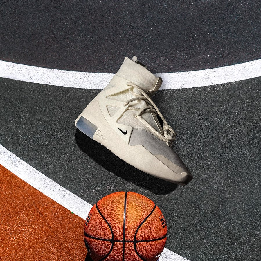 "The Nike Air Fear of God 1 ""Sail"" Releases This Saturday"