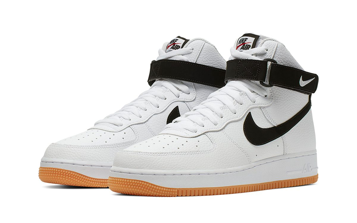 Nike's Gum-Soled Air Force 1s Hit the