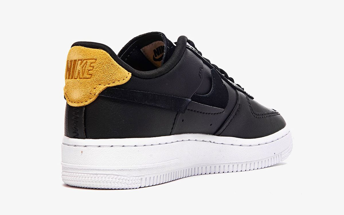 "0c07935bd89 The Nike Air Force 1 Low ""Inside Out"" in Black Drops this August ..."