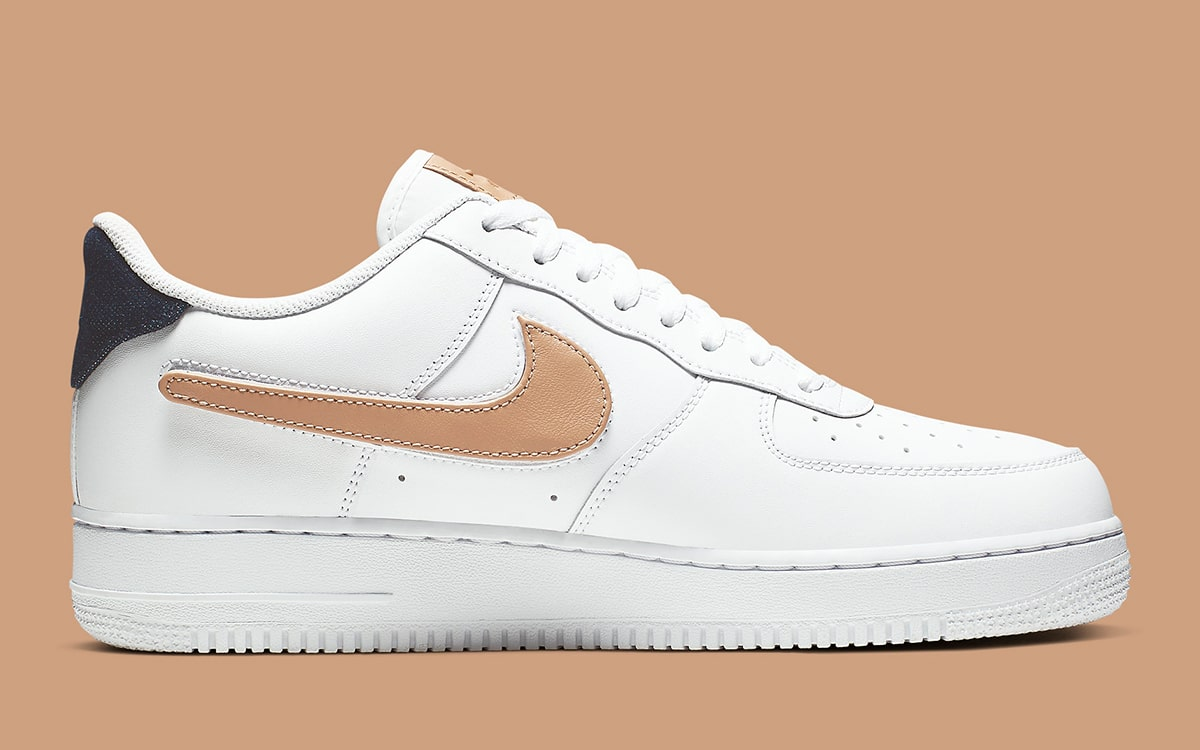Available Now Air Force 1 Low with Vachetta Tan and Denim