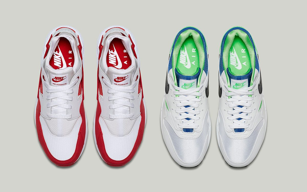 "hot sale online 69a72 c1365 Nike s ""DNA CH.1"" Pack Makes the Air Max 1 and Air Huarache"