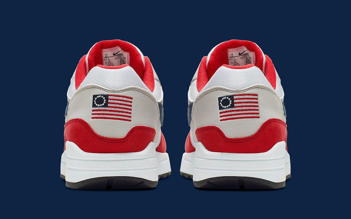 This Air Max 1 Honors both it's OG Colorways and the OG American Flag