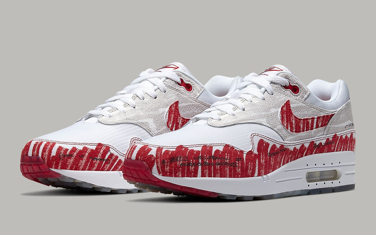 Nike Air Max 1 Tinker Sketch To Shelf CJ4286 101 Release
