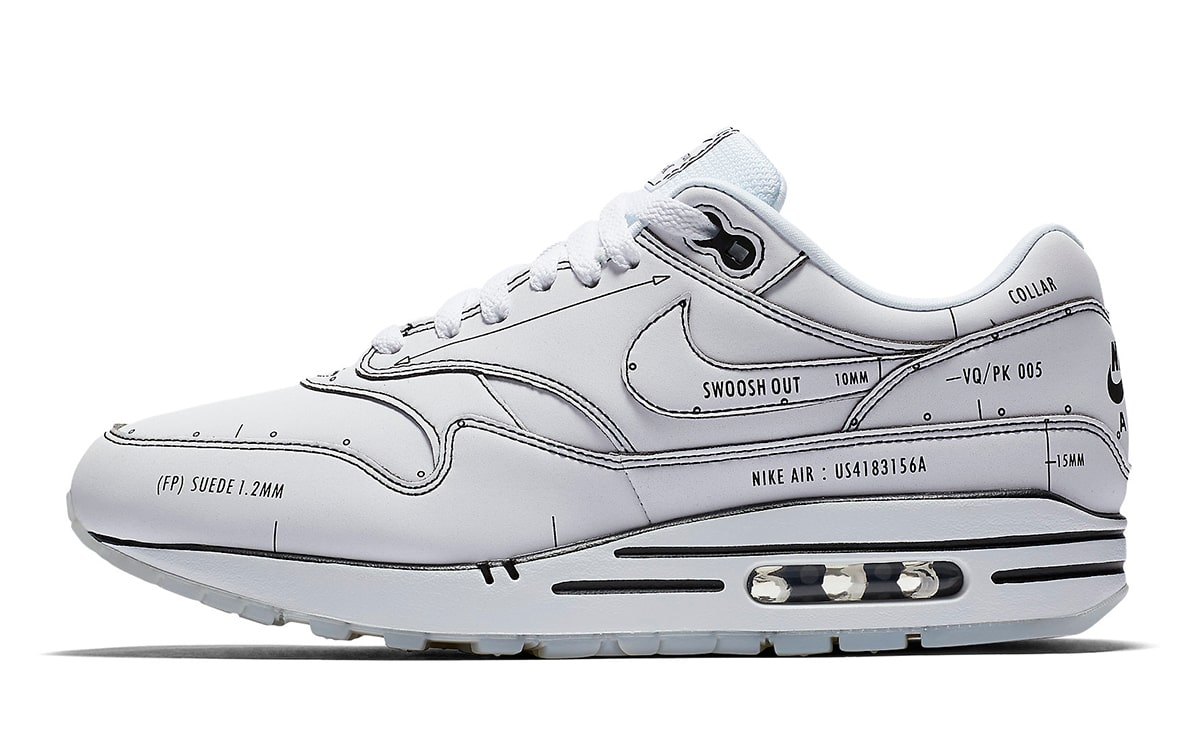 """The Nike Air Max 1 Tinker """"Schematic"""