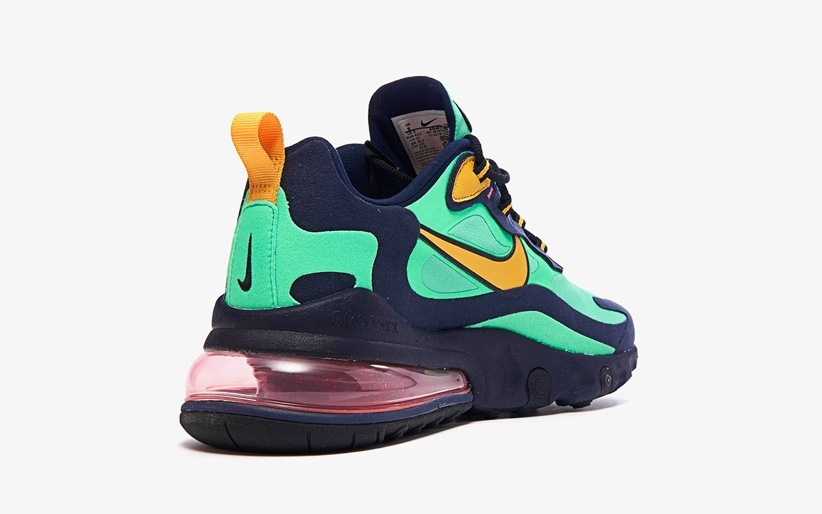 """""""Electro Green"""" Graces this All New Air Max 270 React"""