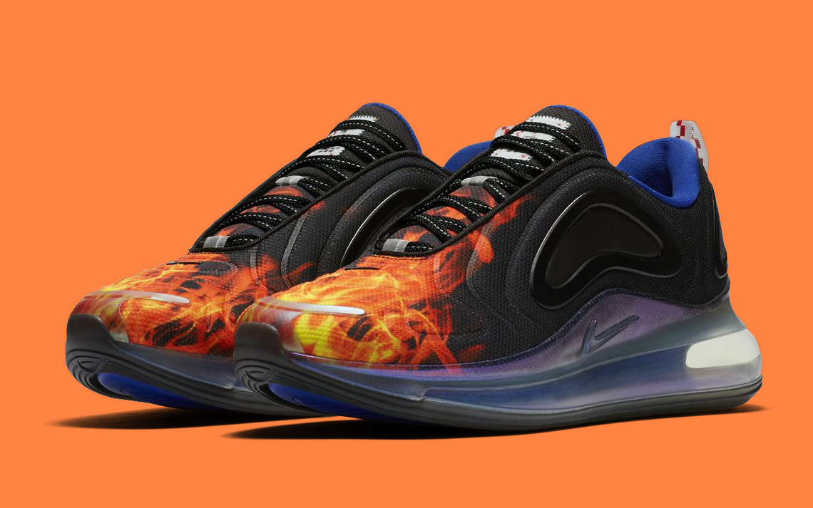artículo Sabio cadena  The Air Max 720 Gets Flamed - HOUSE OF HEAT | Sneaker News, Release Dates  and Features