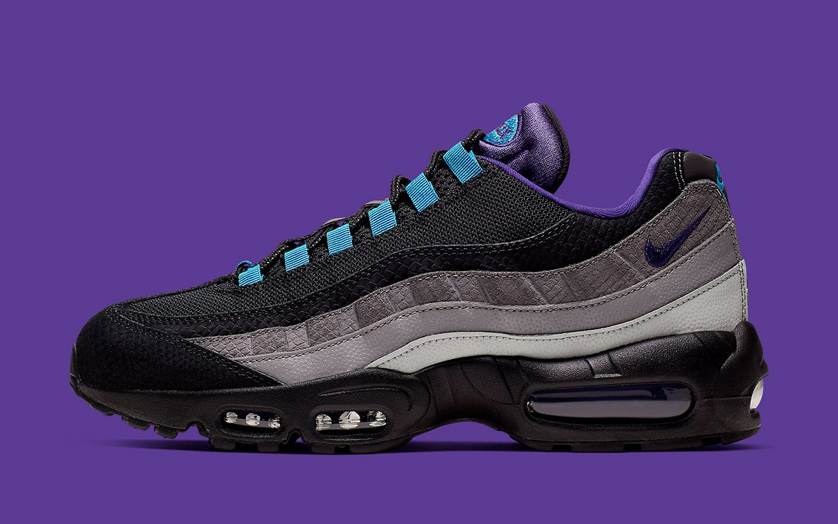 "Available Now // Banging ""Black Grape"" Returns to the Air Max 95"