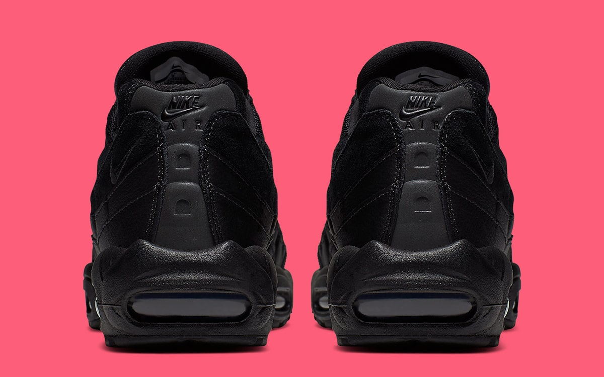 The Nike Air Max 95 Arrives in (Almost) All Black HOUSE OF