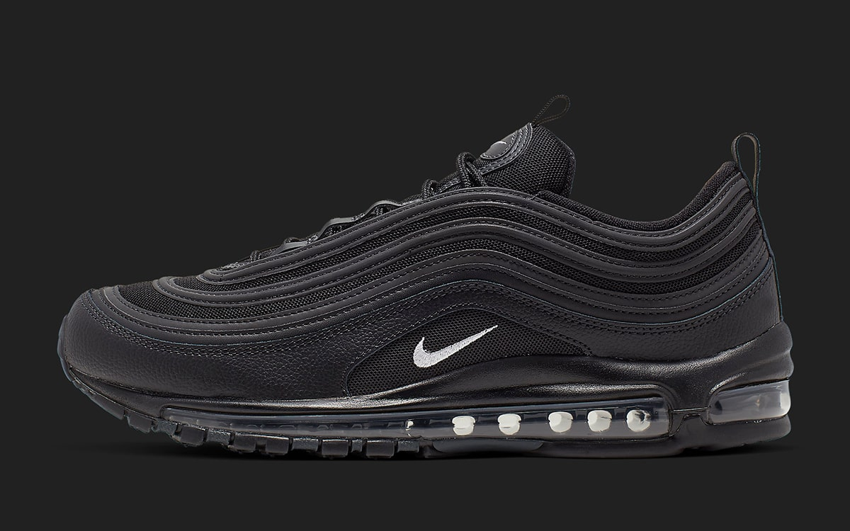 Available Now All Black Air Max 97s Feature Acid Wash