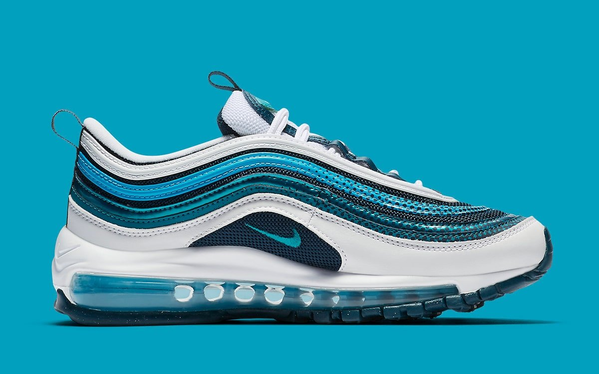 Nike S Air Max 97 Nais It In Nightshade And Spirit Teal House Of