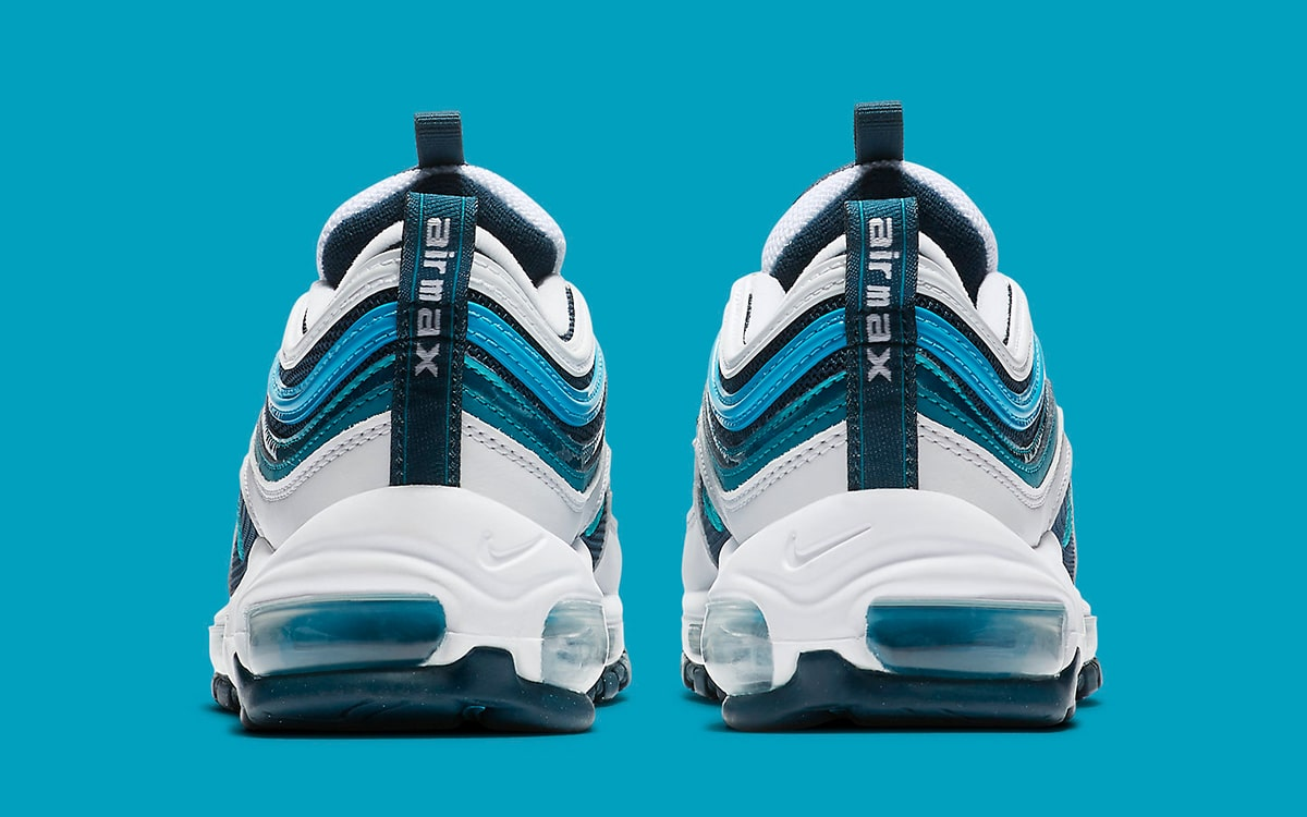 Nike's Air Max 97 Nais it in Nightshade and Spirit Teal