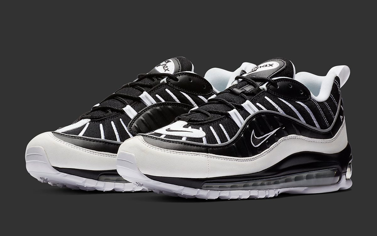 Available Now // Air Max 98 Arrives in Black and White