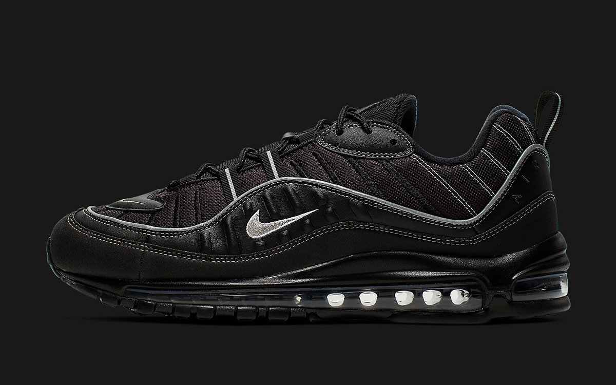 Available Now Nike Drop A Two Pack Of Black Air Max 98s In The
