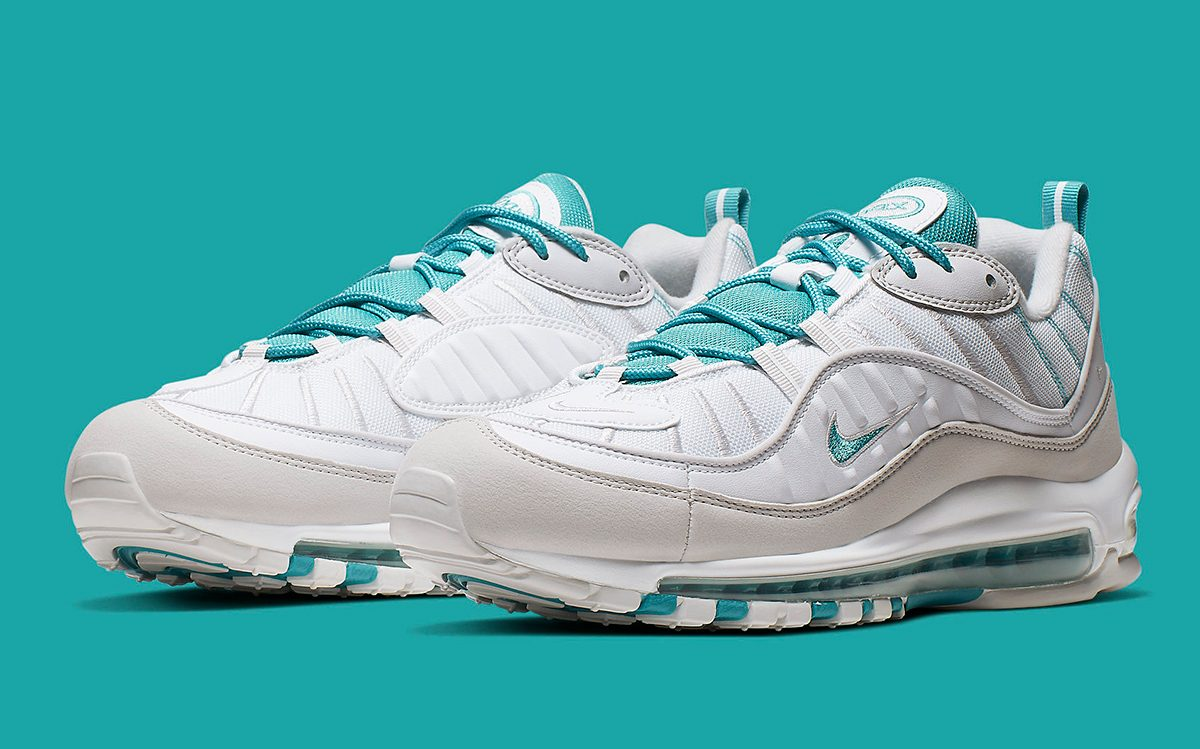 "Available Now // ""Teal Nebula"" is Next Up for the Air Max 98"