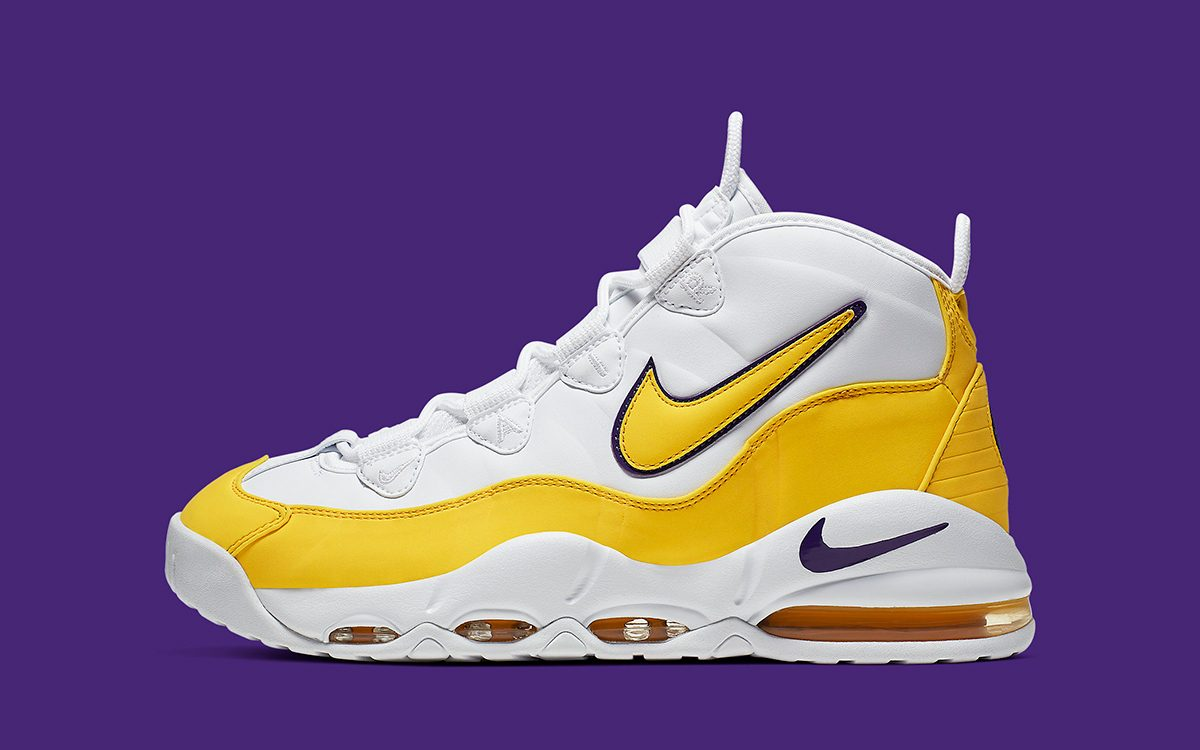 "Scottie Pippen's Air Max Uptempo 95 Appears in a New ""Lakers"" Colorway"