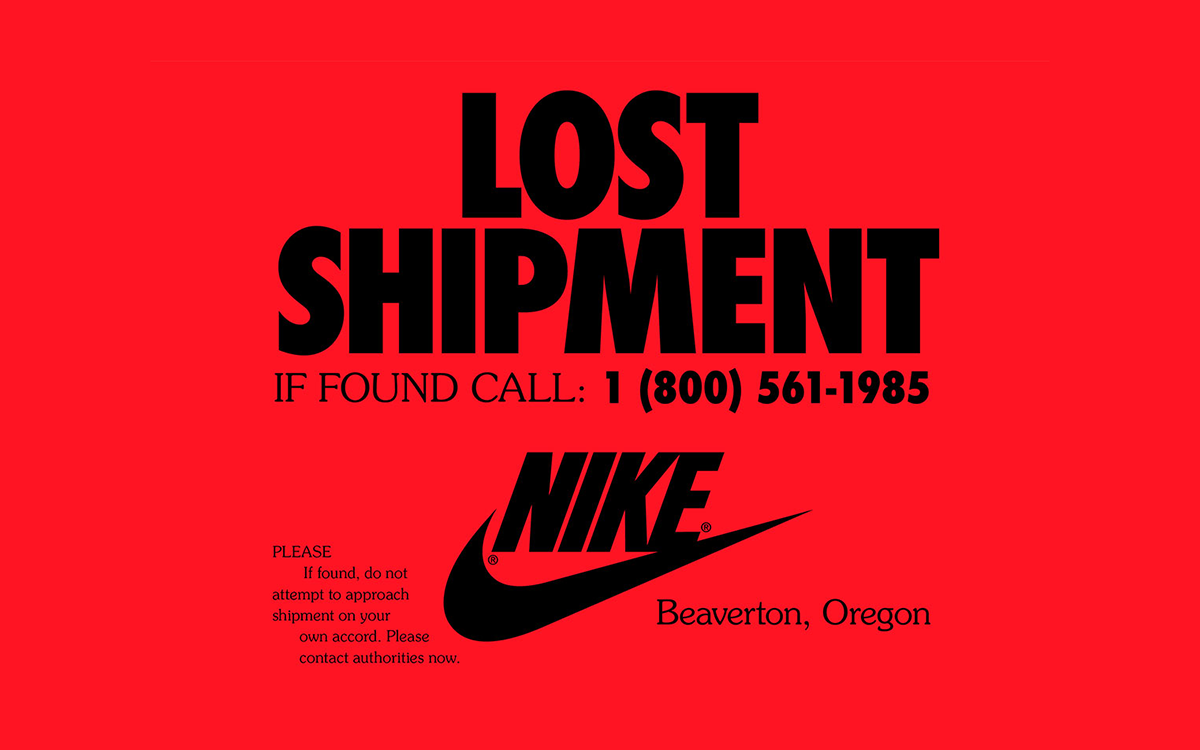 Nike Needs Your Help to Track Down a Lost Shipment From 1985