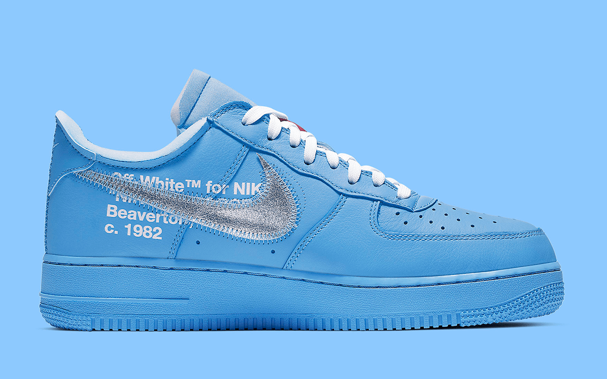 nike x off white air force 1 blue release date
