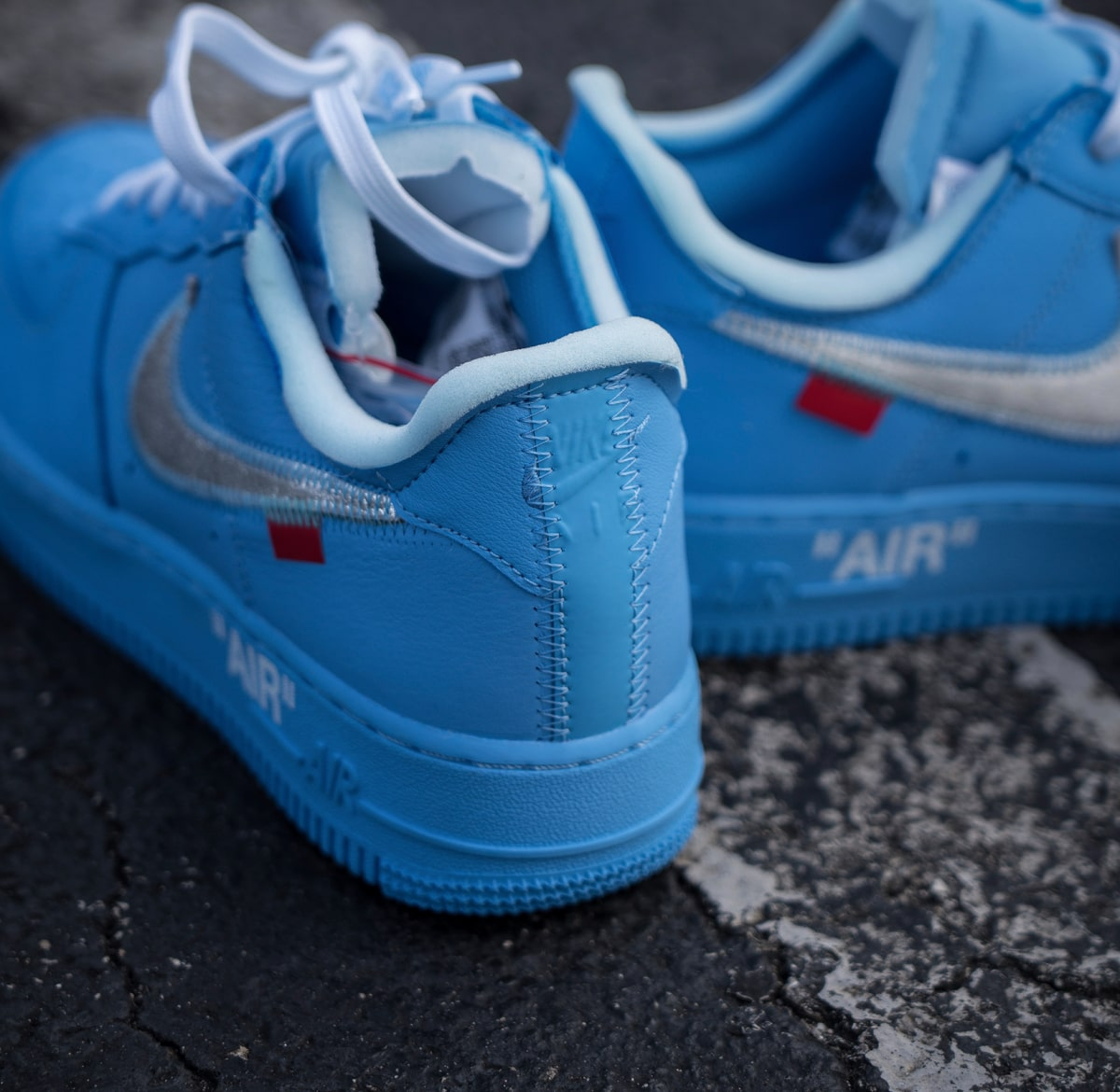 buy popular d5b33 d531c How to Buy the Blue OFF-WHITE x Nike Air Force 1