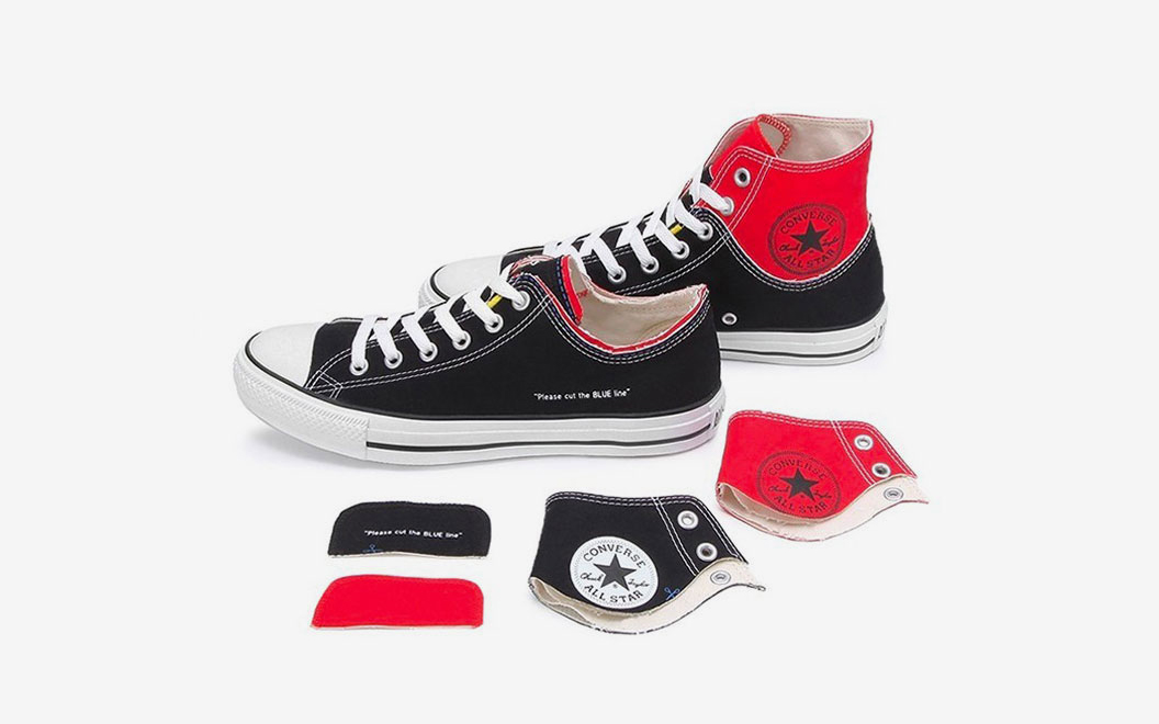 Converse Want You to Cut-Up These Double-Layered Chucks for Ultimate Customization