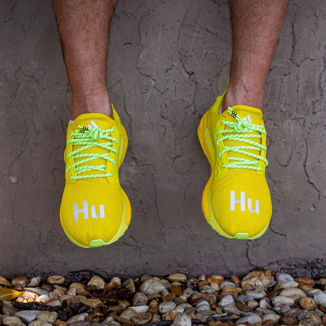 On-Foot Looks at the Yellow adidas Solar Hu