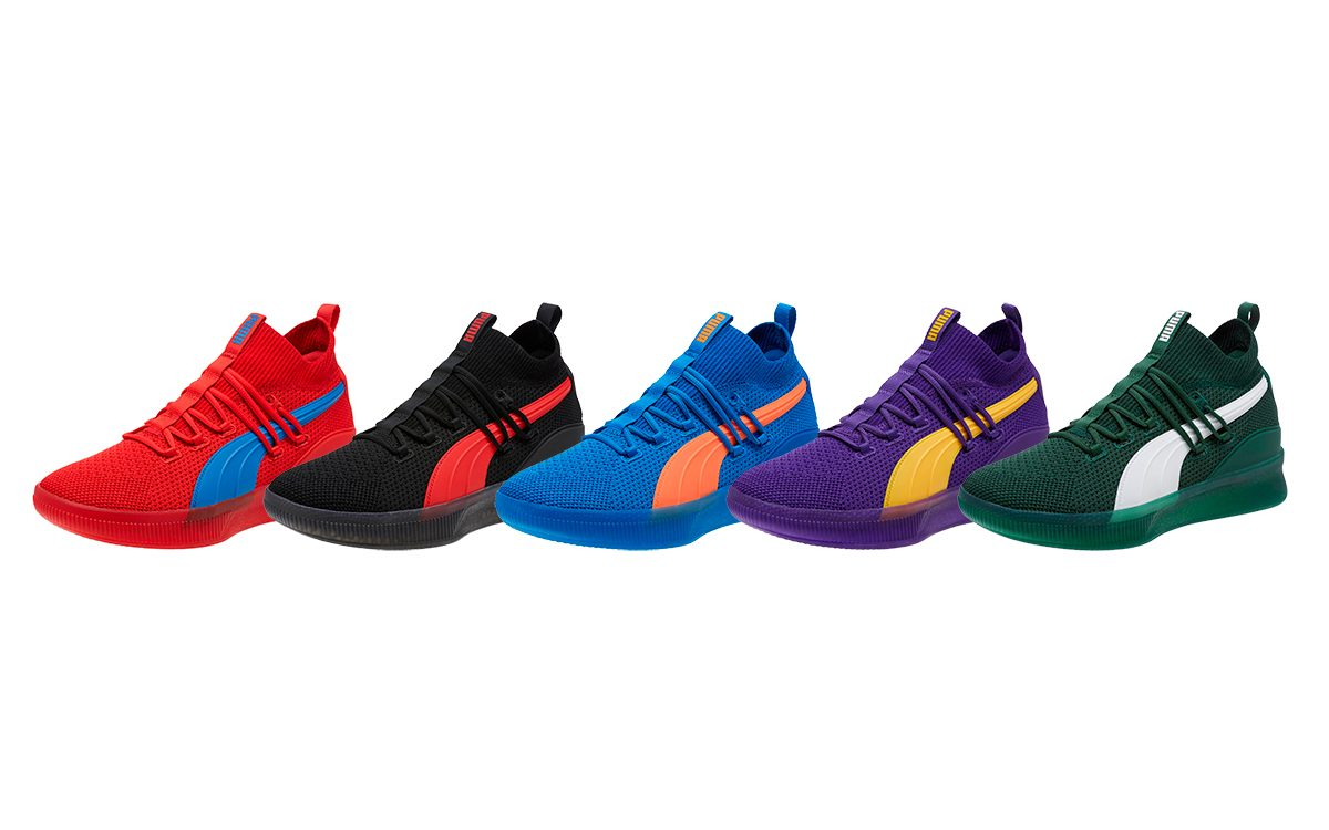 pretty nice fd1ea 286bc Rep Your Franchise on Yo Feet with the PUMA Clyde Court ...