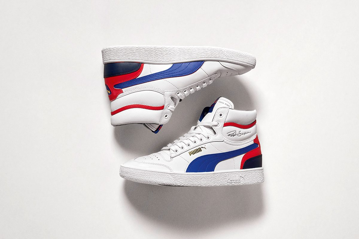 "The PUMA Ralph Sampson Gets Patriotic with a Special ""4th of July"" Sneaker"