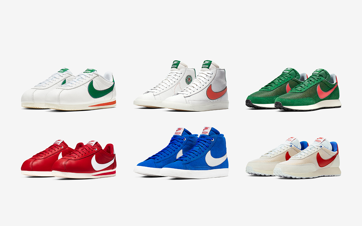Stranger Things x Nike Collection